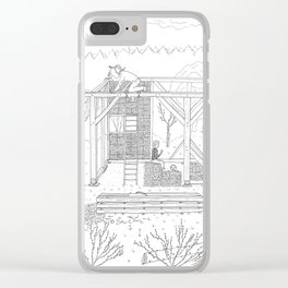 beegarden.works 007 Clear iPhone Case