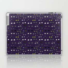 Eyes in the night Laptop & iPad Skin
