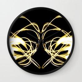 Light Painted Heart Wall Clock
