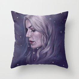 Stars Fall Silent Throw Pillow