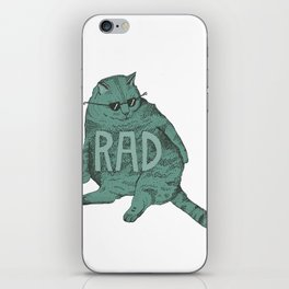 Rad Cat iPhone Skin