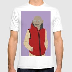 GOLLUM MODERN OUTFIT VERSION - The lord of the rings MEDIUM Mens Fitted Tee White