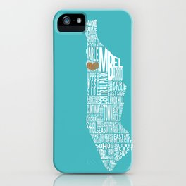 Morningside Heights Love iPhone Case