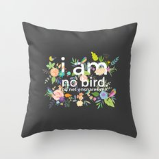 Jane Eyre - I Am No Bird Throw Pillow