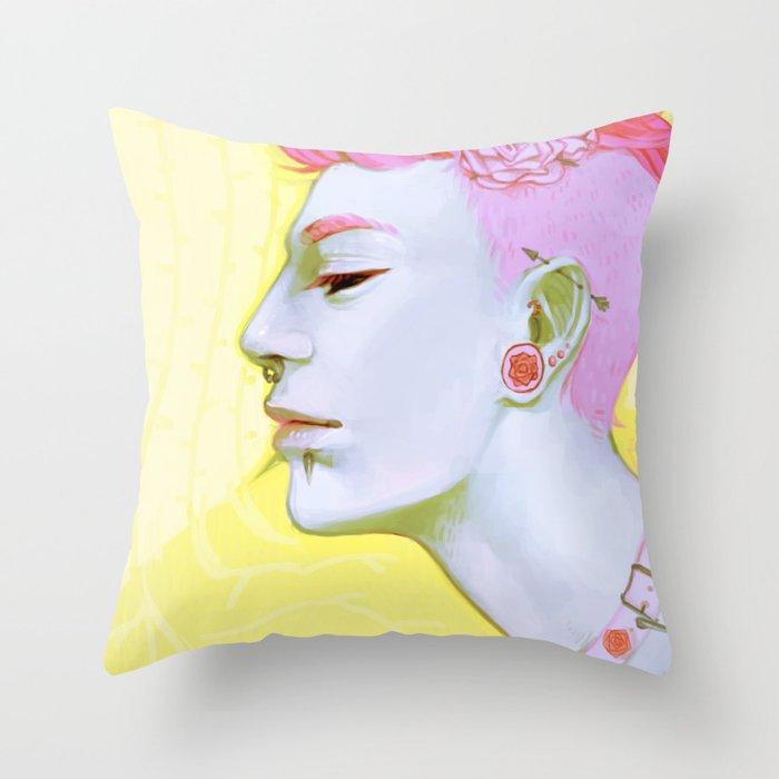 Spikes Throw Pillow
