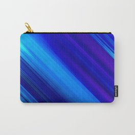 Abstract watercolor colorful lines painting Carry-All Pouch
