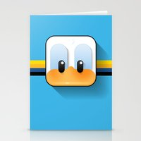 donald duck Stationery Cards featuring donald duck by designoMatt