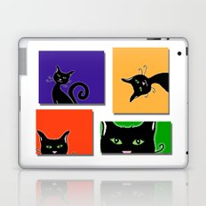 Cats in Squares Laptop & iPad Skin