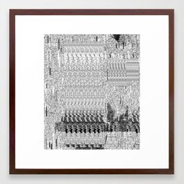 Shadows2 Framed Art Print