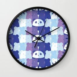 Sleuth of Bears Wall Clock