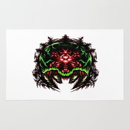 Super Metroid: Angry Baby Graphic Rug