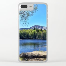 Springtime View of Sugarloaf (1) Clear iPhone Case