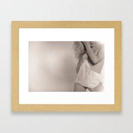 whising Framed Art Print