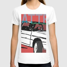 AUDI QUATTRO BRITISH EDITION 20V RED and BEIGE T-shirt