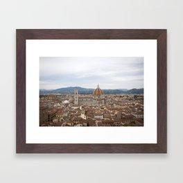 Dream of the Duomo Framed Art Print