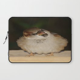 Hungry House Sparrow Laptop Sleeve
