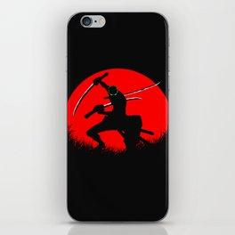 tree sword warrior iPhone Skin
