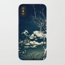 BREATHE iPhone Case