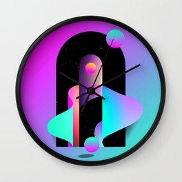 LES QUATRE Wall Clock