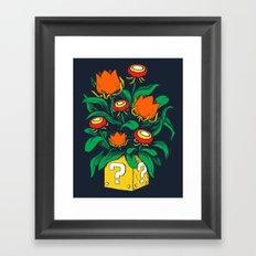Florem Ignis Framed Art Print
