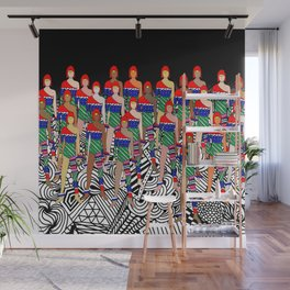 Red Headed Dolls Wall Mural