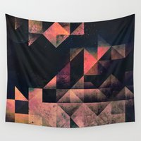 swedish Wall Tapestries featuring nyxt chyptyr by Spires