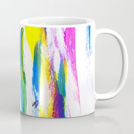 Paint Smears Colorful Abstract Coffee Mug