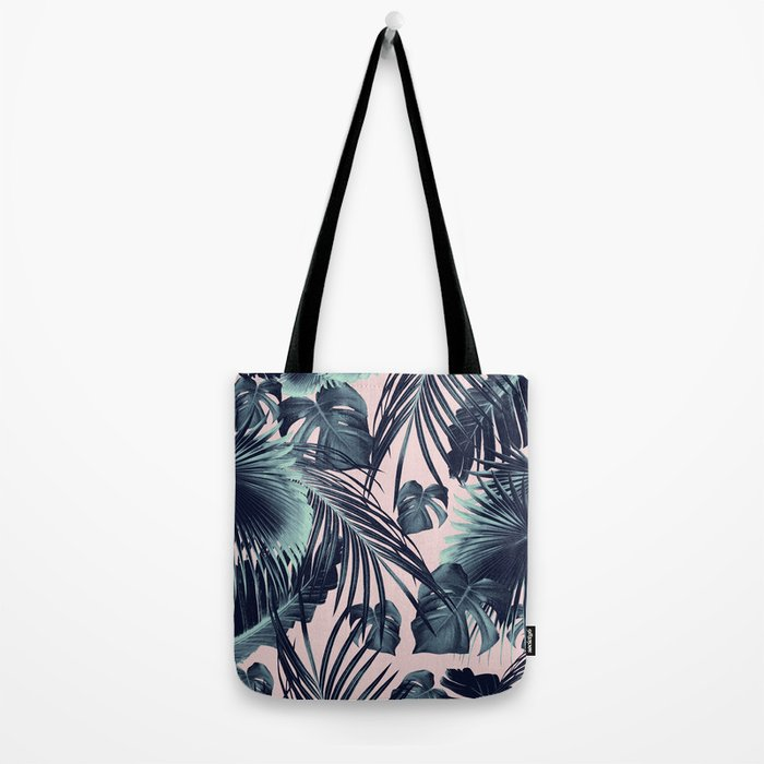 Tropical Jungle Leaves Dream #2 #tropical #decor #art #society6 Tote Bag