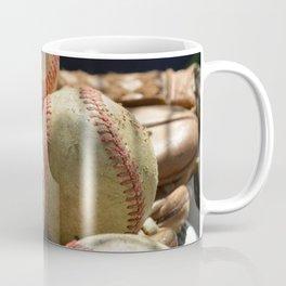 Baseballs and Glove Coffee Mug