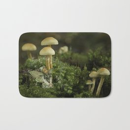 Pixie and 'shrooms Bath Mat