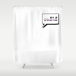 Aces are Valid Shower Curtain