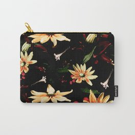 Floral Night II Carry-All Pouch