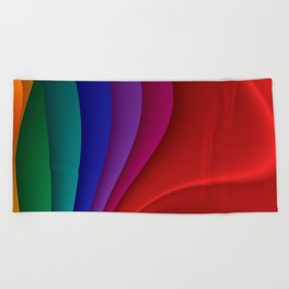 for yoga and more -13- Beach Towel