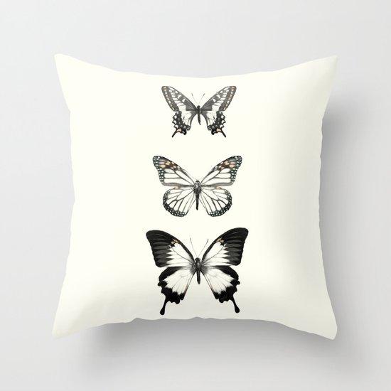 Butterflies // Align Throw Pillow