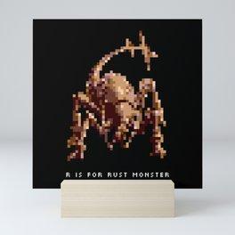 R is for Rust Monster Mini Art Print