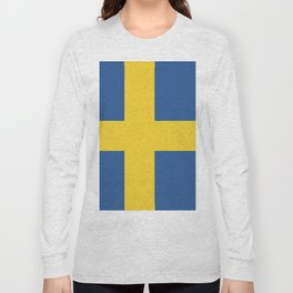 Sweden flag emblem Long Sleeve T-shirt