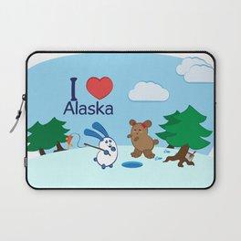 Ernest and Coraline | I love Alaska Laptop Sleeve