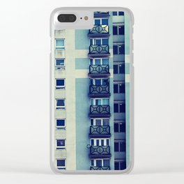 Kennedy House Clear iPhone Case