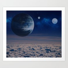 Sky in Another Earth Art Print