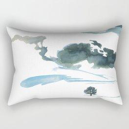 snowy winter Rectangular Pillow