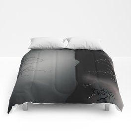 Branching Into Darkness Comforters
