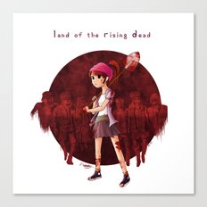 Land of the Rising Dead Canvas Print