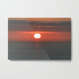 the dying heat Metal Print