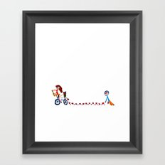 I'm in love | Be my Valentine | Kids Painting Framed Art Print