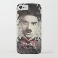charlie chaplin iPhone & iPod Cases featuring Charlie Chaplin by Mahdi Chowdhury