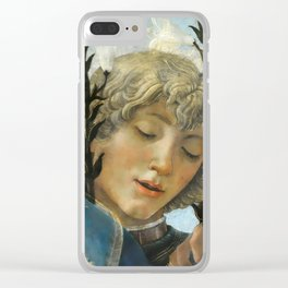 Sandro Botticelli - Angels 1. detail Clear iPhone Case