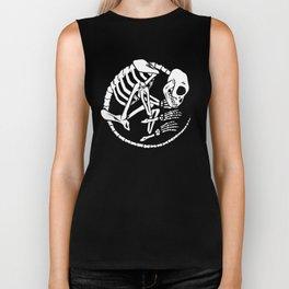 Skeleton 504 Biker Tank