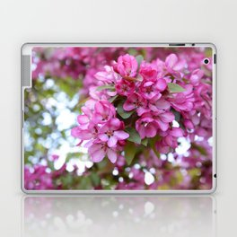 Deep pink blossom Laptop & iPad Skin