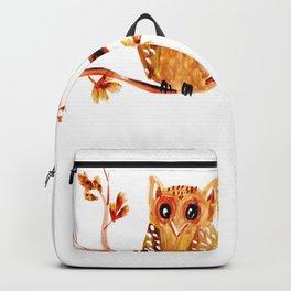 Beautiful Watercolor Autumn Element Backpack