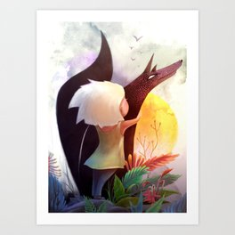 Together In The Sun Art Print